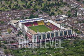 Aerial Photography In and Around Watford-Vicarage Road