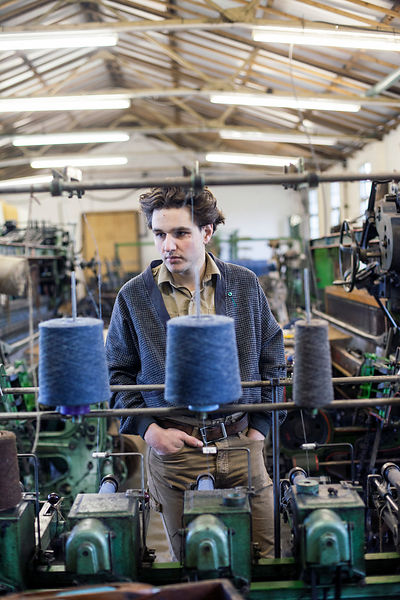 UK - Essex - Daniel Harris at the London Cloth Company