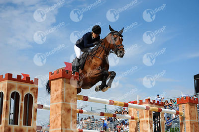 Edwina TOPS-ALEXANDER ,(AUS), HEIDI DU RUISSEAU Z during Longines Cup of the City of Barcelona competition at CSIO5* Barcelona at Real Club de Polo, Barcelona - Spain