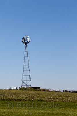 Windmill in Amish country, Lancaster, Pennsylvania