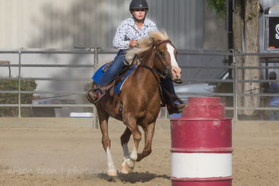 Gymkhana: speed barrel racing