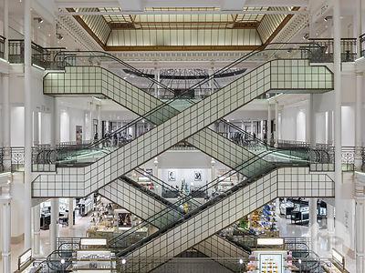 Architecture photographe paris retail interior more le bon marche rive gauche paris - Le bon marche rive gauche ...