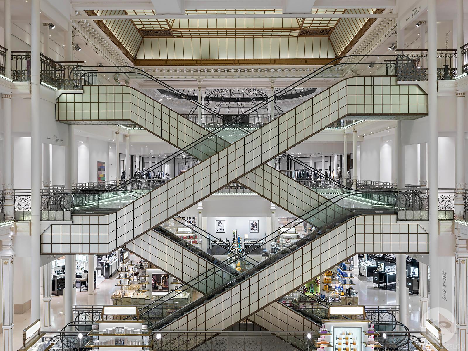 architecture photographe paris retail interior more le bon marche paris france. Black Bedroom Furniture Sets. Home Design Ideas