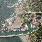 Costa del Sol aerial photos