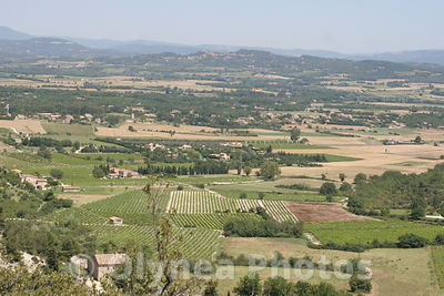 Regional Park of Luberon in Provence