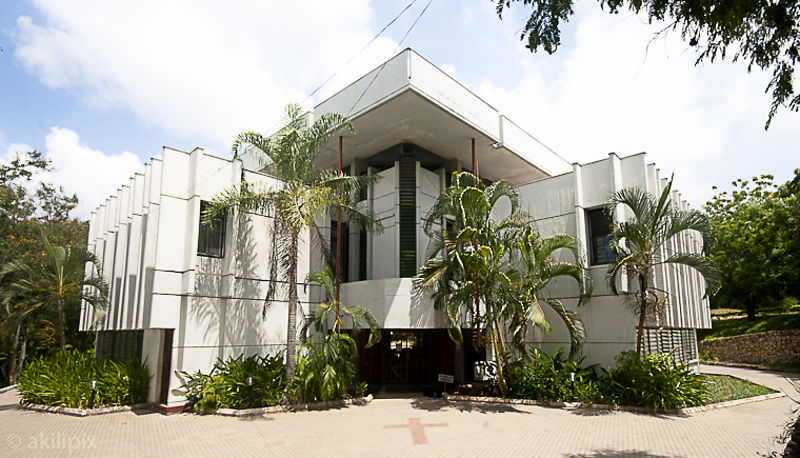 Joint Christian Chapel, University of Dar es Salaam, built 1975.
