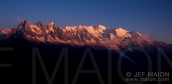 The Mt Blanc Mountain Range images