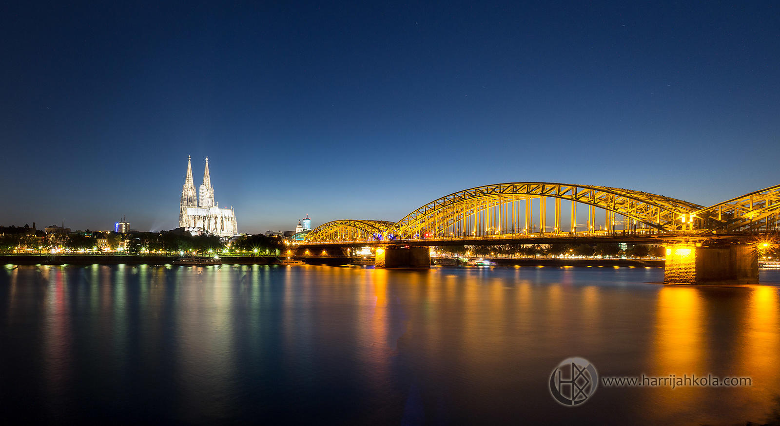 Germany - Cologne (Rhine Panorama)