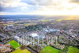 Aerial Photography Taken In and Around Addlestone, UK