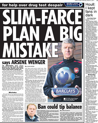 Daily Star 5 March 2011.spt_ai_barclays_arsenal_04 - Steven Paston.Barclays PR Shoot