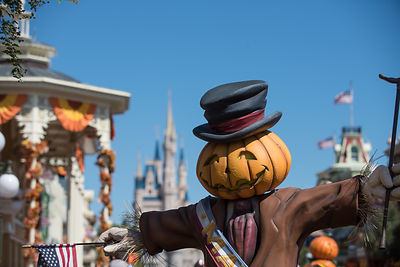 Magic Kingdom Main Street Scarecrow