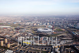 Aerial Photography Taken In and Around Newham