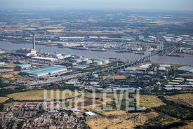 Aerial Photography Taken In and Around Dartford-Dartford Crossing