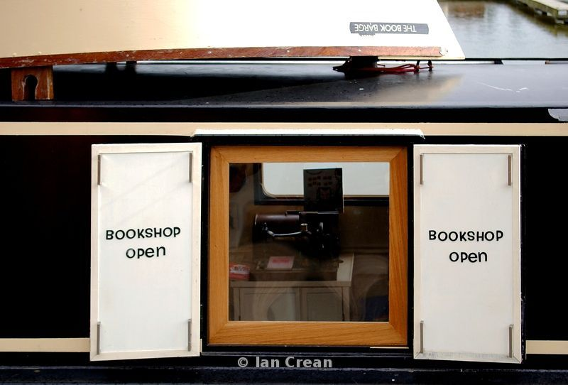 Book Barge Open