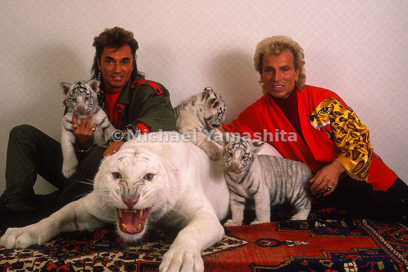 Siegfried and Roy.Las Vegas, Nevada