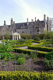 Cowbridge Physic Garden and Old Grammar School, Vale of Glamorgan, South Wales.