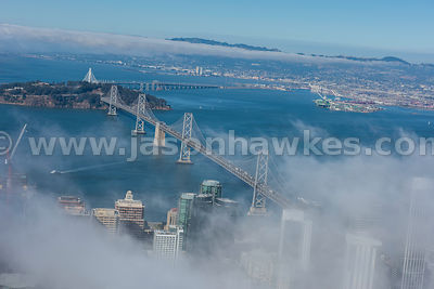San Francisco, California, aerial view,