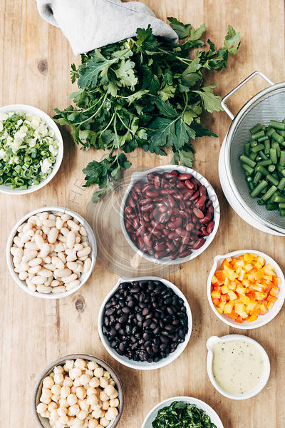 Five Bean Salad Ingredients