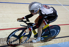 Women's omnium 500m time trial. 2014 Canadian Track Championships, January 5, 2015