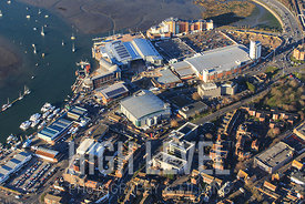 Aerial Photography Taken In and Around Poole-Asda Superstore