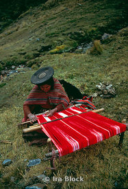 Weaving in the Andes