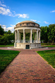 Parkman Bandstand at Boston Common