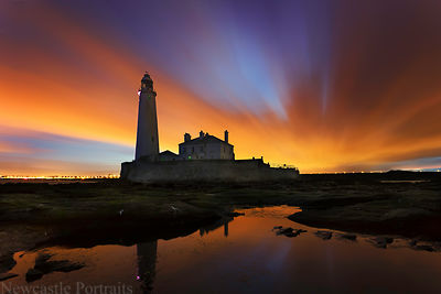 St. Mary's Lighthouse newcastle prints