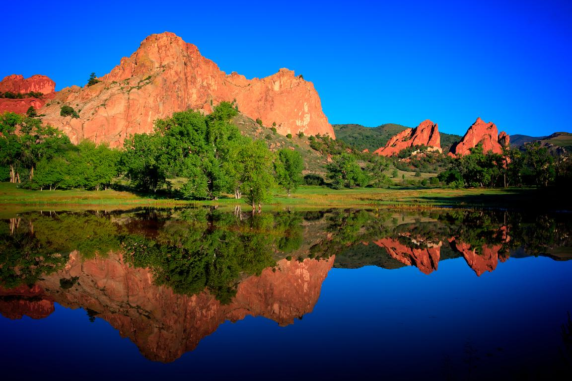 Garden of the Gods Reflection