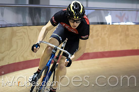 Junior Men Sprint Qualification. Ontario Track Provincial Championships, March 5, 2016