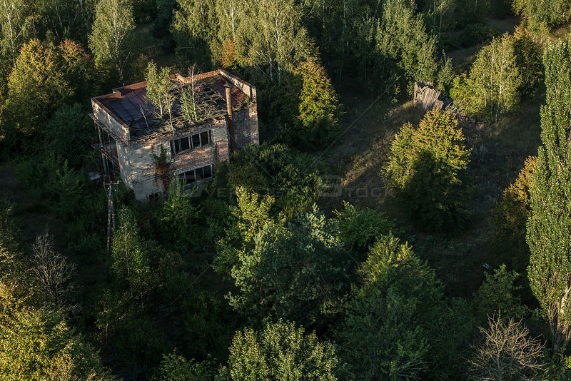 Abandoned home in the Chernobyl Exlusion Zone, Ukraine September