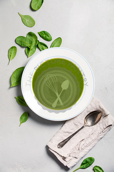 Homemade Spinach soup