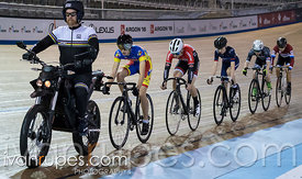 U17 Men Keirin 7-12 Final, 2017/2018 Track Ontario Cup #3, Mattamy National Cycling Centre, Milton On, February 10, 2018