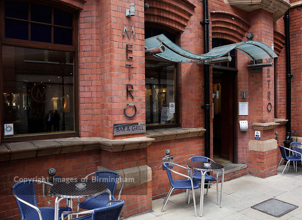 Metro Bar and Grill, Colmore Business District, Birmingham