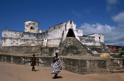 Fort Sebastian, old gold and slave trading centre, 1523 Portugal, 1638 Netherlands, 1872 Britain, Shama, Ghana