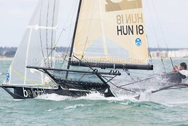 Be Light, HUN 18, 18ft Skiff, Euro Grand Prix Sandbanks 2016, 20160904144