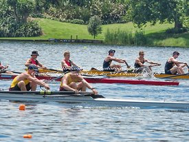 Taken during the Cambridge Town Cup and NI Championships 2018, Lake Karapiro, Cambridge, New Zealand; ©  Rob Bristow; Frame  - Taken on: Friday - 26/01/2018-  at 12:53.09