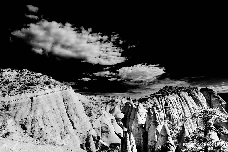 Kasha-Katuwe Tent Rocks National Monument New Mexico - Color & Black and White - All Photos Images Fine Art Prints Stock Photos Color & Black and White Pictures Framed Canvas Metal Acrylic Prints Interior Designer Art Consultant Large Wall Decor Art Source