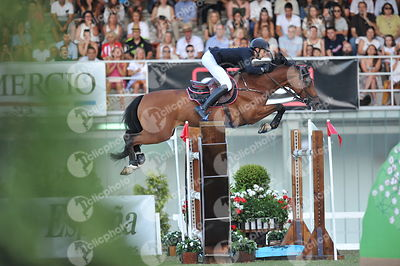 Gijon, Spain - 2018 September 2: GRAN PREMIO DE GIJON - Trofeo Funeraria Gijonesa - CSIO5* 1m60 during CSIO5 Gijon.(photo: 1clicphoto.com/Herve Bonnaud)