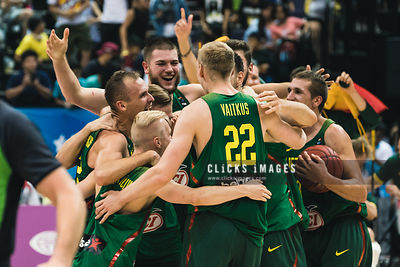Men's Basketball Final Lietuva vs. USA photos