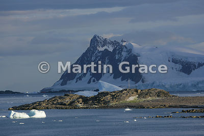 Rocky Stonington Island in Marguerite Bay, West Graham Land, Antarctica