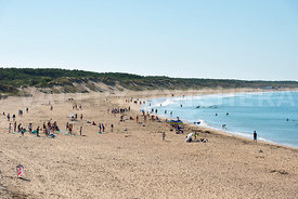 photo: plage du rocher