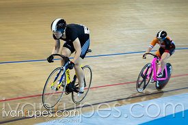 Women's Sprint Final. 2015 Canadian Track Championships, October 8, 2015