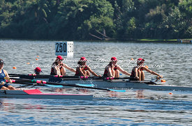 Taken during the Cambridge Town Cup and NI Championships 2018, Lake Karapiro, Cambridge, New Zealand; ©  Rob Bristow; Frame  - Taken on: Friday - 26/01/2018-  at 09:26.41