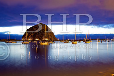 Morro Bay Rock Photo