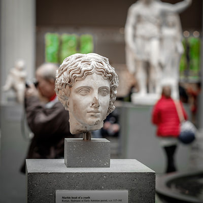 Marble Head, Metropolitan Museum, New York