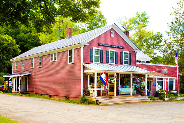 WOODSTOCK COUNTRY STORE VERMONT COLOR