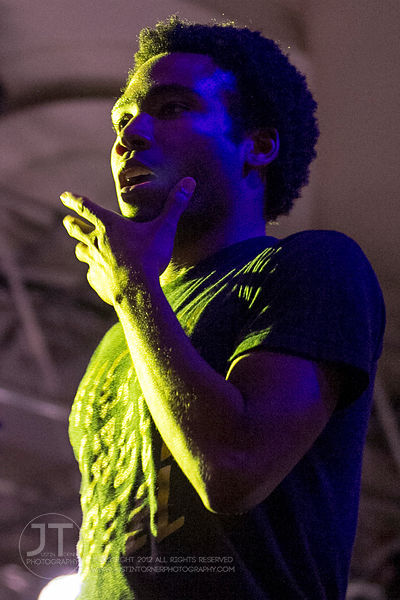 Childish Gambino, Iowa Memorial Union, April 16, 2012