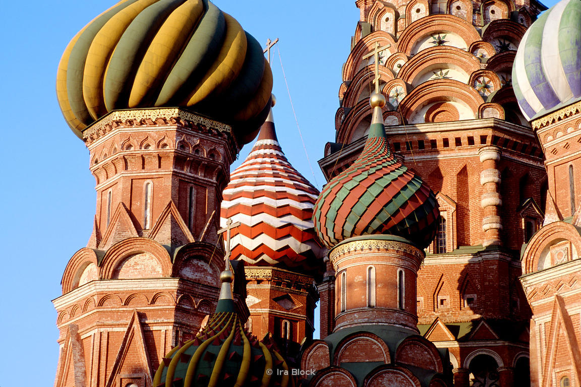 St. Basils cathedral, Red Square in Moscow, Russia