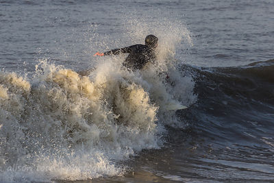 Surfing, Cromer beach