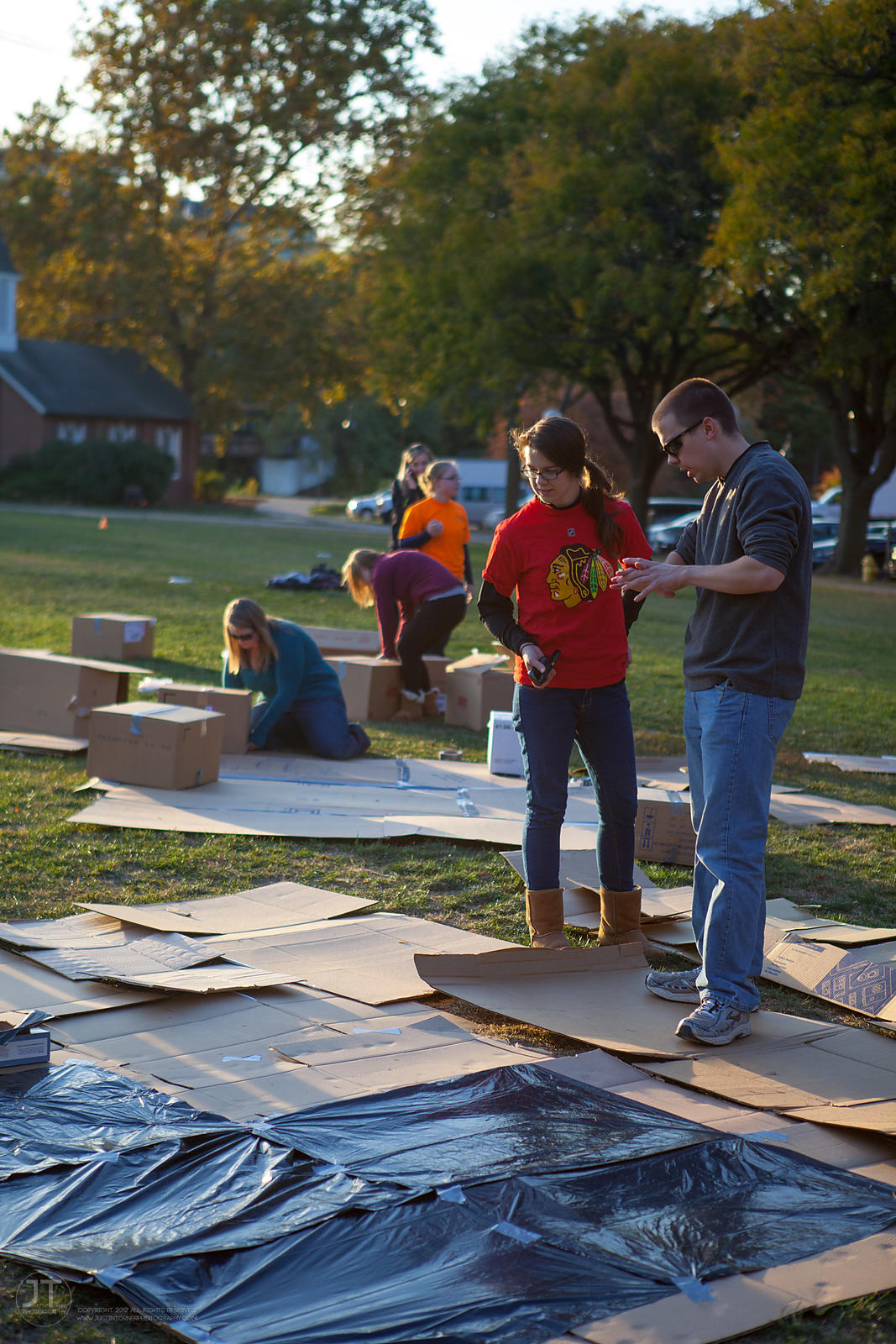 UI Habitat for Humanity Sleep Out